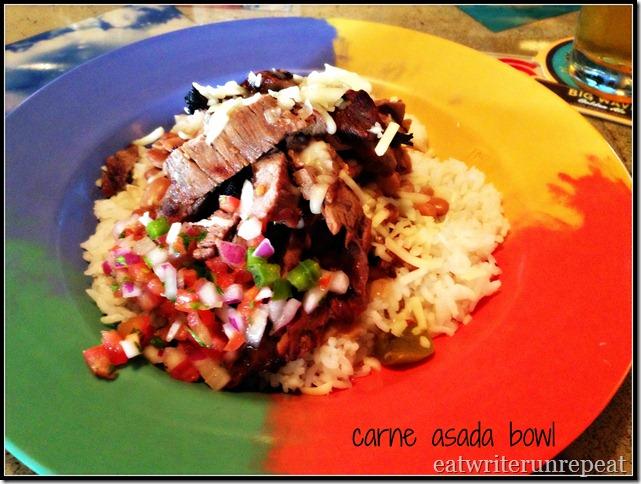 carne asada bowl