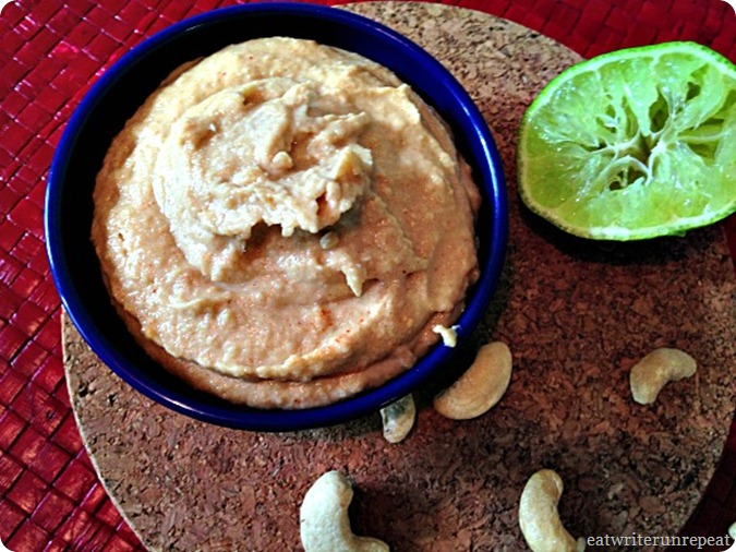 spicy cashew dipping sauce