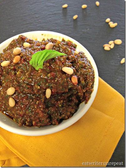Sun Dried Tomato basil Pesto - Dairy Free 2
