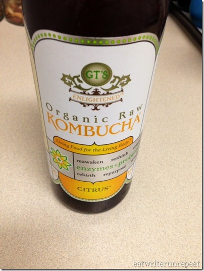 what i ate wednesday-kombucha