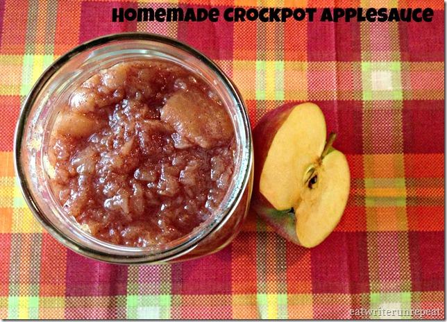 homemade crockpot applesauce 2