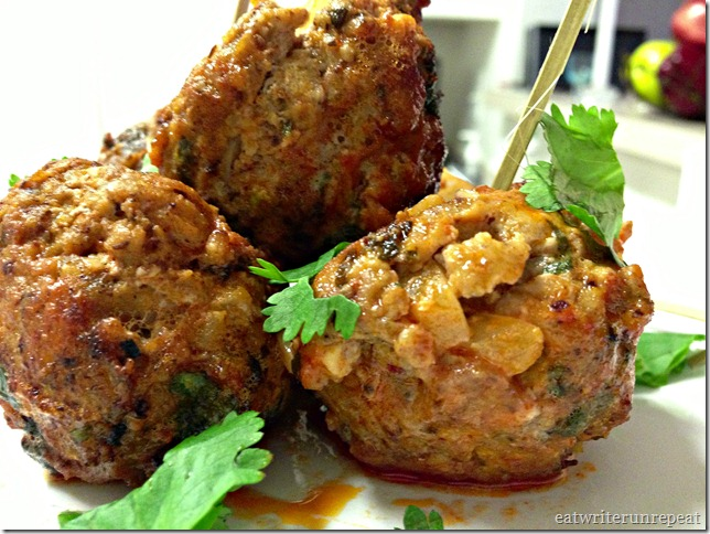 Buffalo Chicken Meatballs - Whole30 Approved