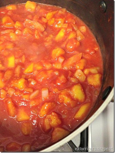 peach BBQ sauce 1