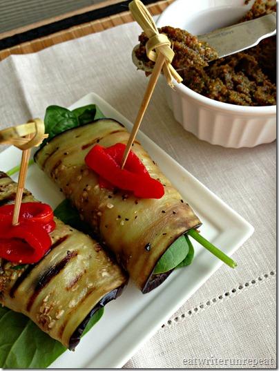 tomato basil pesto eggplant roll-ups 4