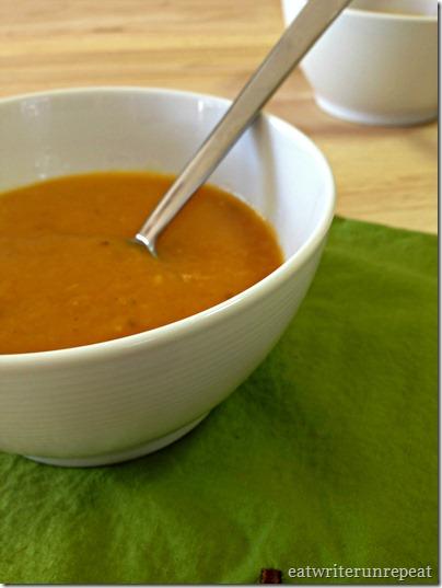 butternut squash soup | eatwriterunrepeat.com