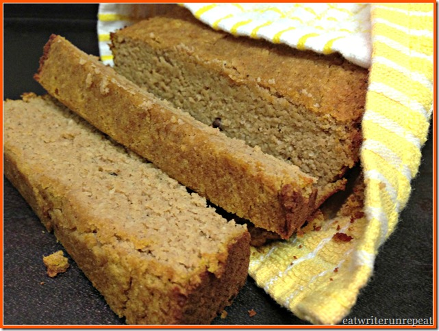 grain free pumpkin bread 2