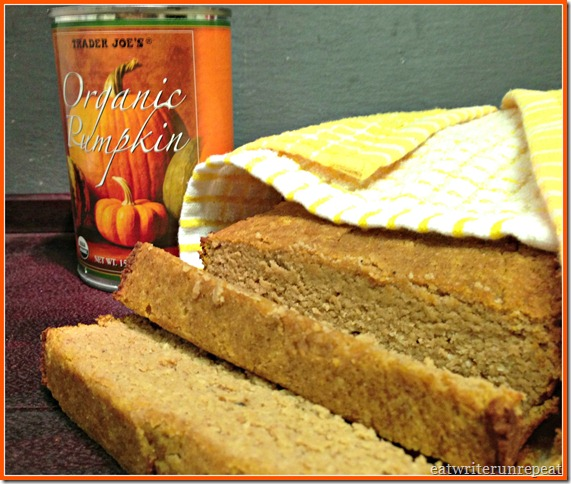 grain free pumpkin bread 3