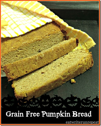grain free pumpkin bread