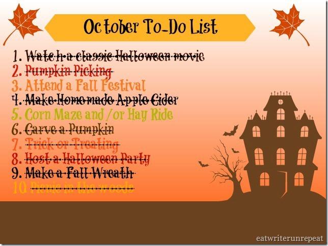october list 2