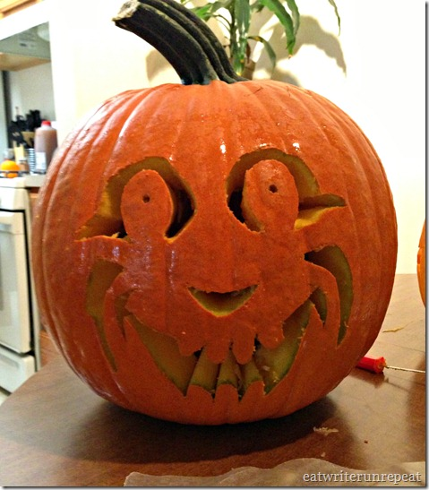 pumpkin carving 5