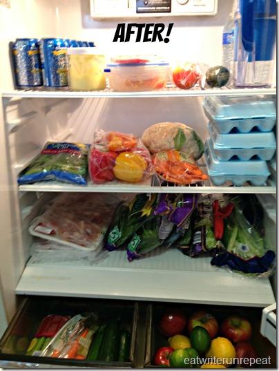 Whole30 | after fridge