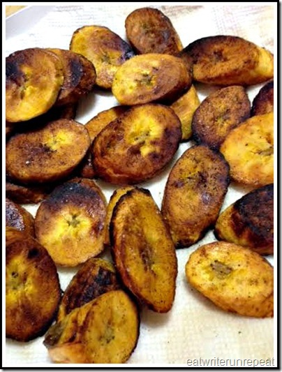 eatwriterunrepeat.com | fried plantains