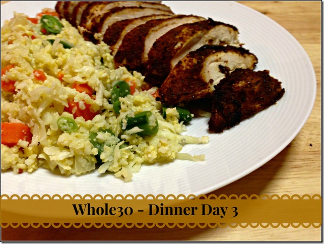 whole30_day3_chicken_and_rice