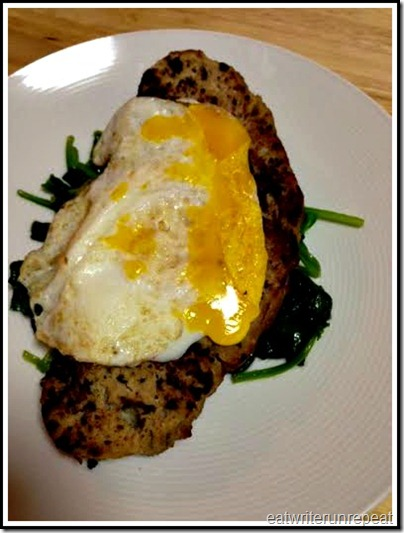 eatwriterunrepeat.com | whole30 breakfast meatloaf