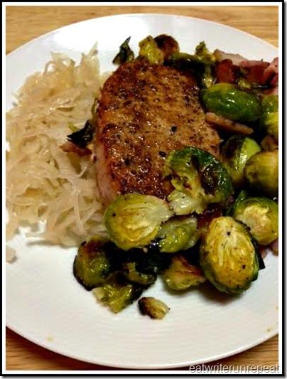 eatwriterunrepeat.com | whole30 pork and sauerkraut