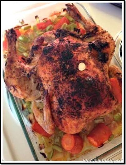 eatwriterunrepeat.com | Whole30 roast chicken