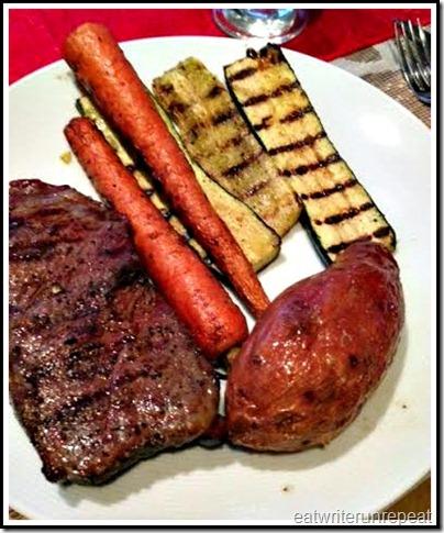 eatwriterunrepeat.com  | whole30 steak dinner