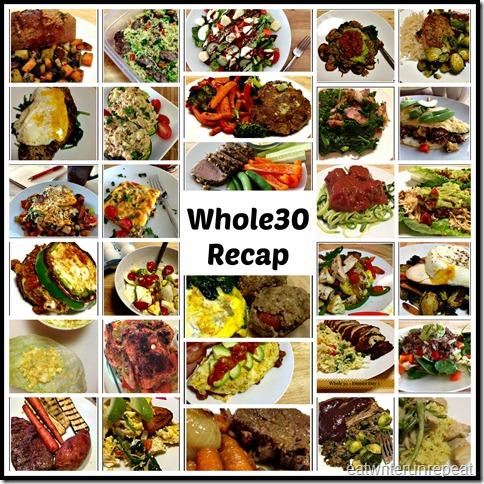 eatwriterunrepeat.com || whole30 Recap