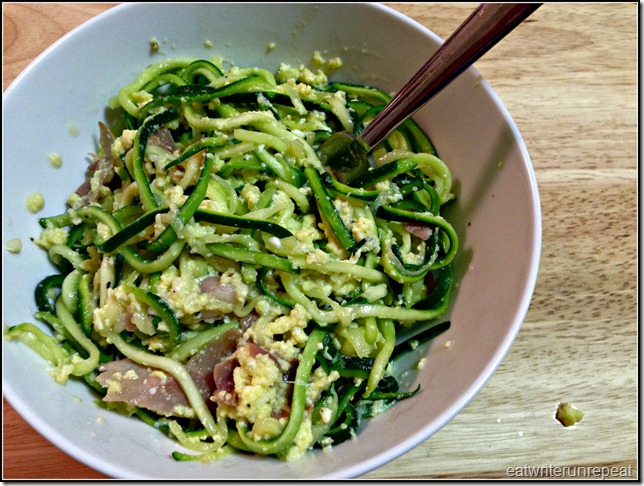 spaghetti nocarbonara | eatwriterunrepeat.com