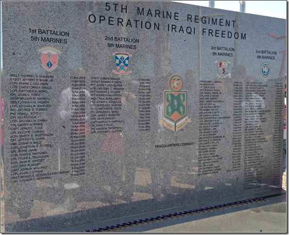 5th marines memorial | eatwriterunrepeat.com