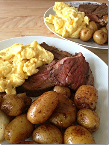 bearfamilystrong.com | beef roast with eggs