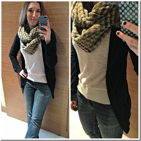 bearfamilystrong.com | chloe houndstooth infinity scarf