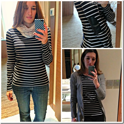 bearfamilystrong.com | greenich striped knit top