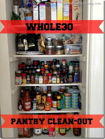 bearfamilystrong.com | whole30 pantry clean out