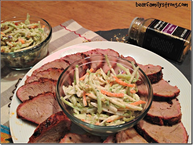 bearfamilystrong.com | grilled pork tenderloin with rainbow slaw2