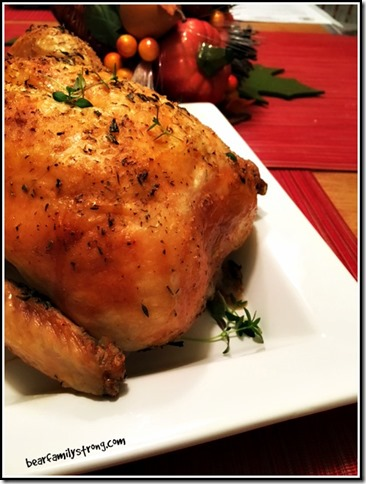 bearfamilystrong.com | lemon thyme roast chicken