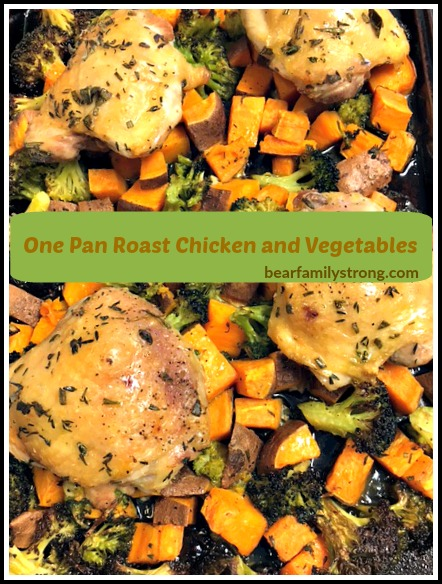 one pan roast chicken and vegetables 2